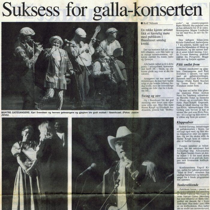 Fra Varden 3 juli 1996
