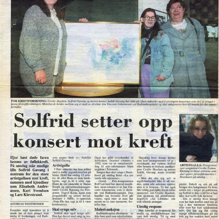 Porsgrunns Dagblad 1996